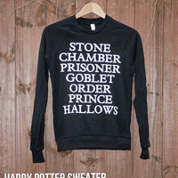 Unisex Harry Potter Sweater  Choose Size  Made to by DebbieMarine