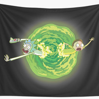 'Rick & Morty' Wall Tapestry by Chase Josiah