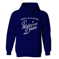 panic at the disco logo Man Hoodie and Woman Hoodie