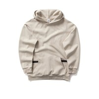 Sidelock Pocket Hoodie - Off White