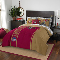 San Francisco 49ers NFL Full Comforter Bed in a Bag (Soft & Cozy) (76in x 86in)