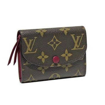 LOUIS VUITTON Monogram Rosari M41939 coin purse