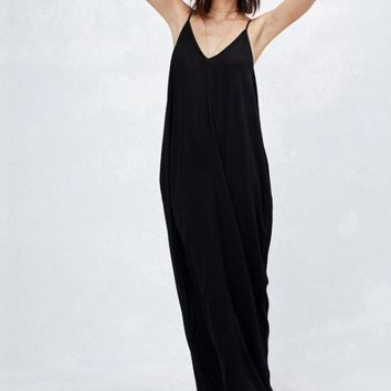 The Mila Maxi Dress - Black