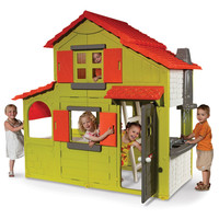 The Two-Story Playhouse - Hammacher Schlemmer