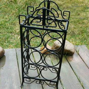 Wine Bottle Rack/Stand Wrought-iron