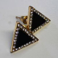 Triangle Earrings - Αξεσουαρ |Miss Reina
