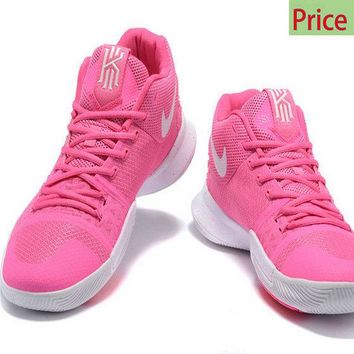 New Arrival Kyrie Irving 3  Third Think Pink Pink Flash White sneaker