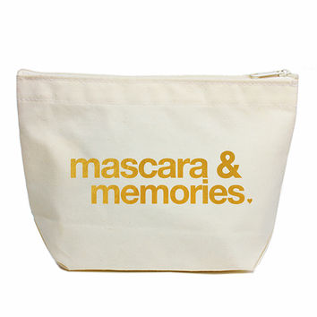 'Lil' Zip' Mascara and Memories Pouch