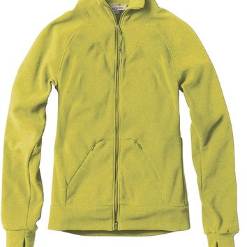 Westcomb Womens Fall Salish Warm Winter Fleece Sweater Coat Jacket Chamomile