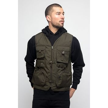 Utility Zipper Pocket Vest