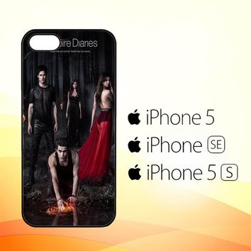 Vampire diaries season 5 posters Z0151  iPhone 5|5S|SE Case