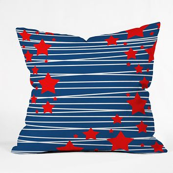Caroline Okun Spangled Throw Pillow