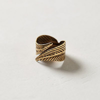Twisted Feather Ring