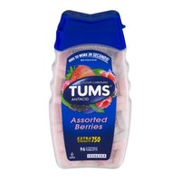 Tums Antacid Extra Strength 750 Chewable Tablets Assorted Berries - 96 CT - Walmart.com