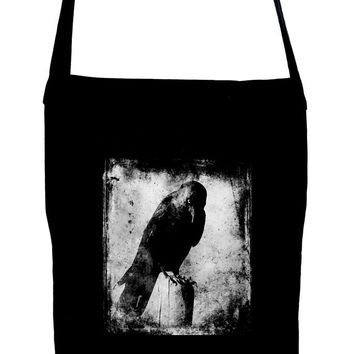 Evil Eye Raven Crossbody Sling Bag Dark Alternative Edgar Allan Poe