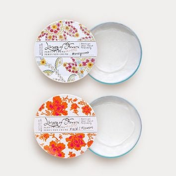 Library Of Flowers Parfum Crema Duo: Honeycomb & Field and Flowers