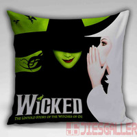 Wicked Broadway Throw Pillow for the Home Decor