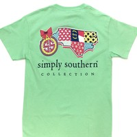 Simply Southern Tee - North Carolina