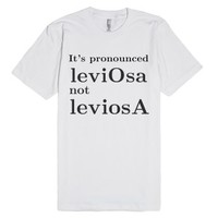 Harry Potter/ LeviosA-Unisex White T-Shirt