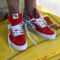 Trendsetter VANS SK8-Hi Canvas Ankle Boots Flats Sneakers Sport Shoes