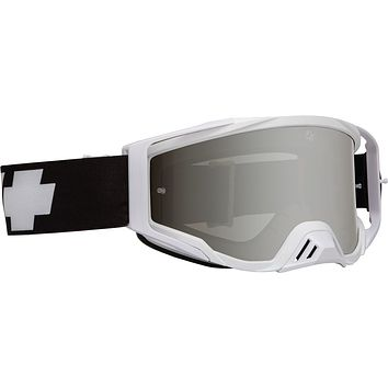 Spy - Foundation Slayco MX Goggles / Smoke HD + Silver Spectra + Clear  Lenses