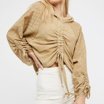 Free People Cinch It Up Hoodie