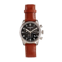 Mougin & Piquard For J.Crew Chronograph Watch In Black
