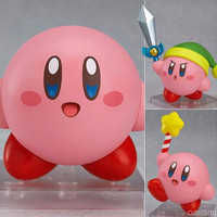 Land Kirby Nendoroid 544 game Anime Collectible Action Figure PVC toys for christmas gift with retail box free shipping
