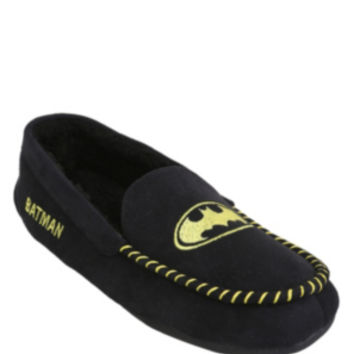 DC Comics Batman Guys Moccasin Slippers