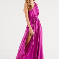 UO Avery One-Shoulder Maxi Dress | Urban Outfitters