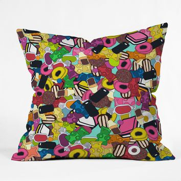 Sharon Turner Sugar Sugar Throw Pillow