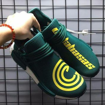 VON3TL Sale Pharrell Williams x Adidas PW HU Human Race NMD Hu Green Boost Sport Running Shoes Classic Casual Shoes Sneakers-1