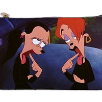 A goofy movie goth girl makeup bag