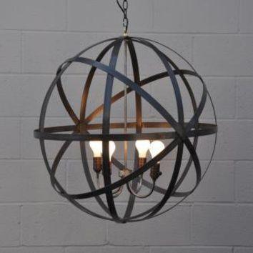 Metal sphere Lantern | My Sparrow
