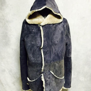 Authentic INAISCE Thulean Anorak Shearling Coat