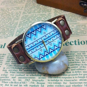 Vintage Original Geometric Totem  Watch