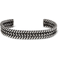Foundwell Vintage - Burnished Silver Cuff