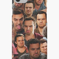 'New Girl - Nick Miller' iPhone Case/Skin by anoooukk