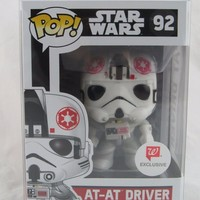 AT-AT Driver Star Wars Funko Pop! Vinyl Figure #92 Walgreens Exclusive