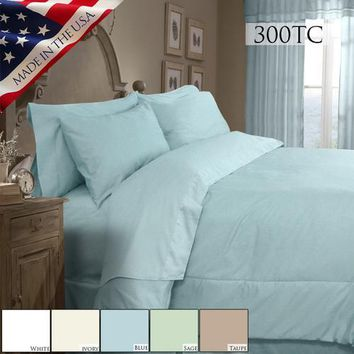 SUPREME SATEEN 300 SOLID COMFORTER SET
