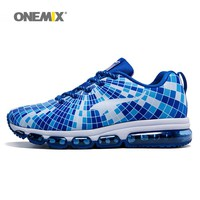 Man Running Shoes for Men Cushion Shox Athletic Trainers Fancy Dance Design Sports Max Blue Breathable Outdoor Walking Sneakers