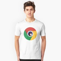 'Google Chrom' T-Shirt by WeebTees