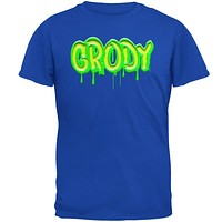 80's Retro Flashback Grody Slime Mens Soft T Shirt