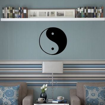 YinYang Decal Sticker Wall children boy girl by dabbledownJunior