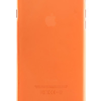 Orange Frosted Transparent Soft Case for iPhone 6 Plus