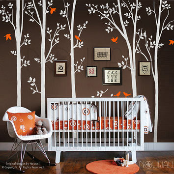 Tree Wall Decals Wall Stickers - spring trees nursery wall decal