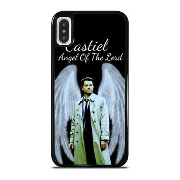CASTIEL ANGEL OF THE LORD iPhone X / XS case