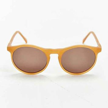 Profound Aesthetic X UO Matte Honey Round Sunglasses- Honey One