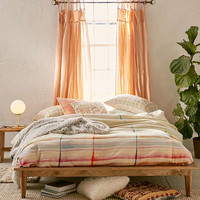Maka Plaid Duvet Cover - Urban Outfitters