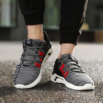 Mens Running Shoes Sneakers Breathable Sports Mesh Fitness Trainers